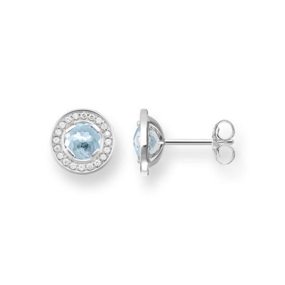 97b414692 Thomas Sabo Jewelry | Ss Ear Studs Light Of Luna Lightblue | Poshmark